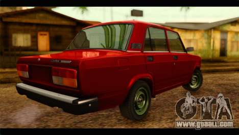 VAZ 21074 for GTA San Andreas left view