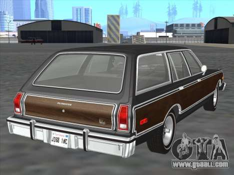 Plymouth Volare Wagon 1976 wood for GTA San Andreas right view