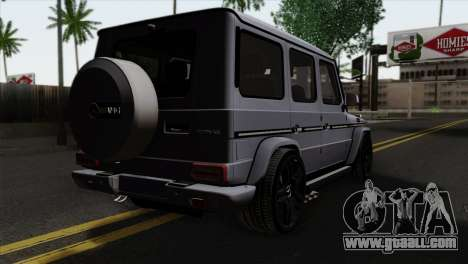 Mercedes-Benz G65 AMG Carbon Edition for GTA San Andreas left view