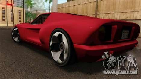 Bullet PFR v1.0 for GTA San Andreas left view