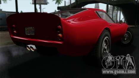 GTA 5 Grotti Stinger GT v2 IVF for GTA San Andreas left view