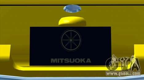 Mitsuoka Le-Seyde for GTA San Andreas inner view