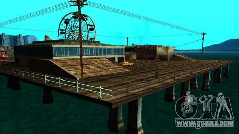 HQ Roads 2015 for GTA San Andreas second screenshot
