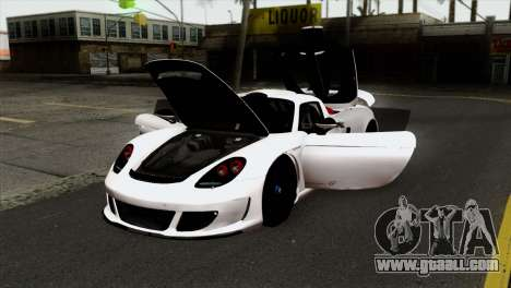 Gemballa Mirage GT v2 Windows Up for GTA San Andreas back view