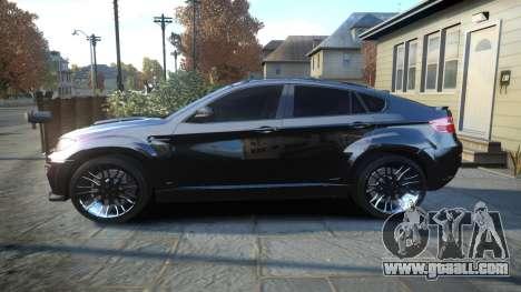 HAMANN BMW X6 2011 Tycoon EVO M v1.0 TSE for GTA 4 left view