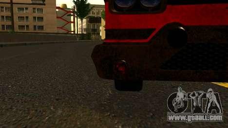 GTA 5 Declasse Tornado Worn IVF for GTA San Andreas back view