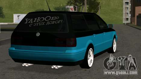 Volkswagen Passat B4 for GTA San Andreas right view