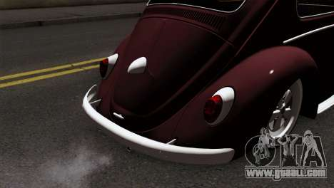 Volkswagen Beetle for GTA San Andreas back view