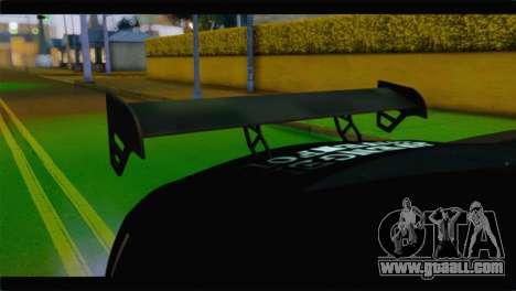 Nissan Skyline GTR Rockstar Energy for GTA San Andreas right view