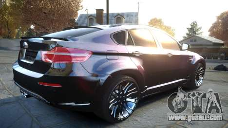 HAMANN BMW X6 2011 Tycoon EVO M v1.0 TSE for GTA 4 back view