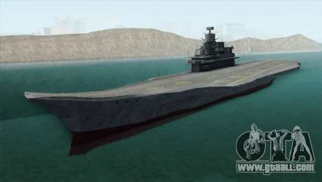Admiral Kuznetsov Class for GTA San Andreas