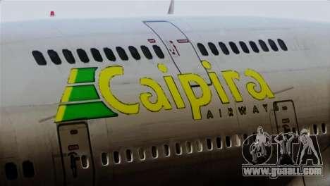 GTA 5 Caipira Airways for GTA San Andreas back view