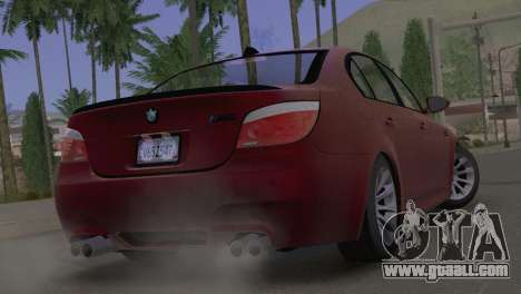 BMW M5 E60 2009 Stock for GTA San Andreas left view