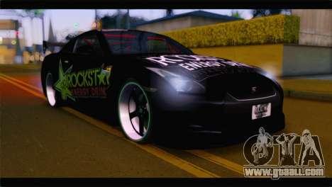 Nissan Skyline GTR Rockstar Energy for GTA San Andreas