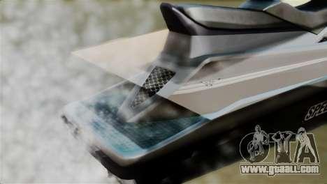 Seashark from GTA 5 for GTA San Andreas back view