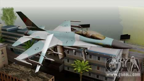 F-16C TNI Angkatan Udara for GTA San Andreas