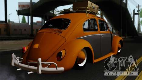 Volkswagen Beetle 1969 for GTA San Andreas left view