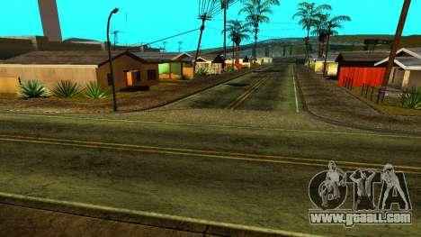 HQ Roads 2015 for GTA San Andreas