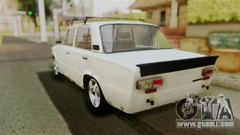 VAZ 2101 BC for GTA San Andreas back left view
