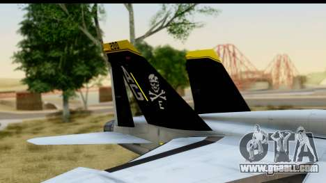 FA-18D VFA-103 Jolly Rogers for GTA San Andreas right view
