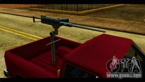 Bobcat Technical Pickup for GTA San Andreas right view