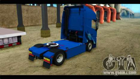 Volvo FH4 Ocean Race for GTA San Andreas left view