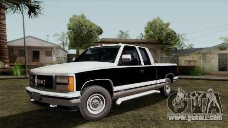 GMC Sierra 2500 1992 Extended Cab Final for GTA San Andreas