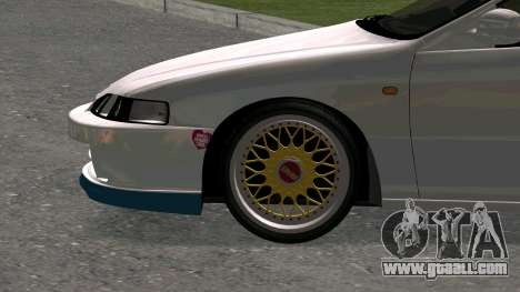 Honda Integra Type R 2000 for GTA San Andreas back view