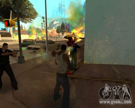 Rainbow Effects for GTA San Andreas second screenshot