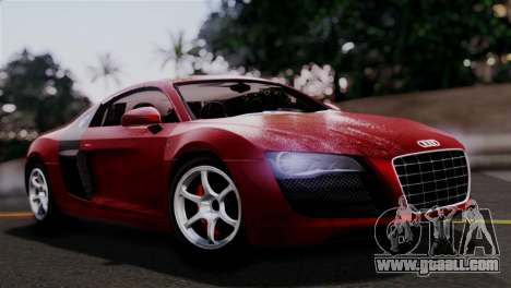 Audi R8 V10 v1.0 for GTA San Andreas