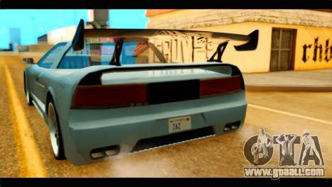 Infernus Rapide GTS Stock for GTA San Andreas back view