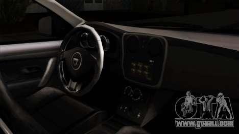 Dacia Logan MCV 2013 IVF for GTA San Andreas right view