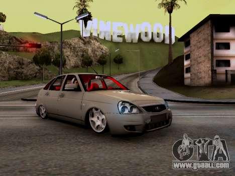 ВАЗ 2172 (Lada Priora) for GTA San Andreas