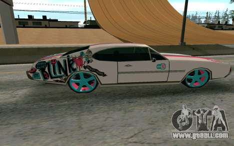Clover Blink-182 Edition for GTA San Andreas left view