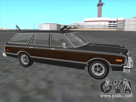 Plymouth Volare Wagon 1976 wood for GTA San Andreas left view