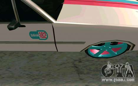 Clover Blink-182 Edition for GTA San Andreas inner view