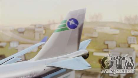 GTA 5 Caipira Airways for GTA San Andreas back left view