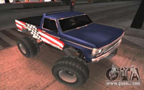 New textures Final Monster for GTA San Andreas
