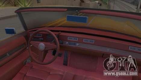 Cadillac Eldorado for GTA San Andreas right view