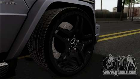 Mercedes-Benz G65 AMG Carbon Edition for GTA San Andreas back left view