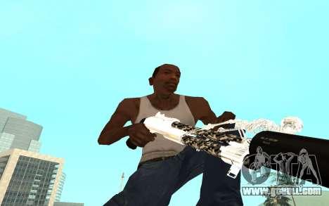 Skeleton Weapon Pack for GTA San Andreas seventh screenshot