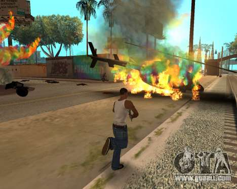 Rainbow Effects for GTA San Andreas fifth screenshot