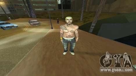 Los Santos Vagos Skin Pack for GTA San Andreas third screenshot