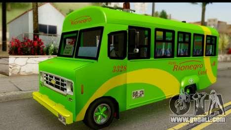 Chevrolet C30 Bus for GTA San Andreas