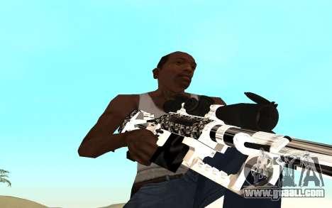 Skeleton Weapon Pack for GTA San Andreas forth screenshot