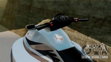 Seashark from GTA 5 for GTA San Andreas back left view