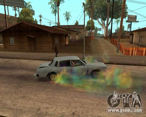 Rainbow Effects for GTA San Andreas eighth screenshot