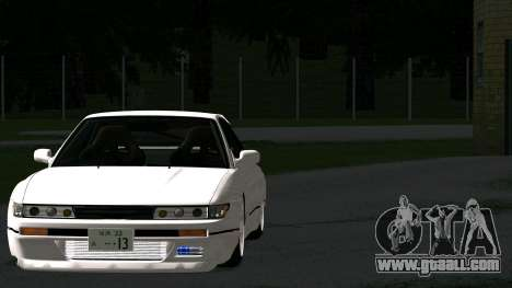 Nissan Silvia S13 for GTA San Andreas back view