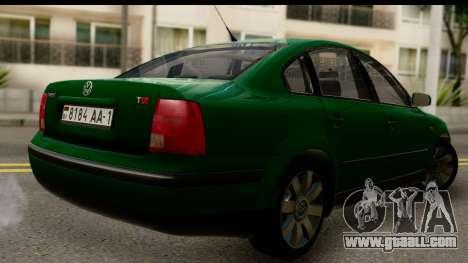 Volkswagen Passat B5 for GTA San Andreas left view