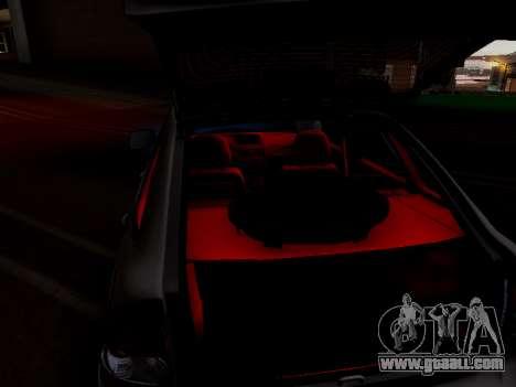 ВАЗ 2172 (Lada Priora) for GTA San Andreas inner view